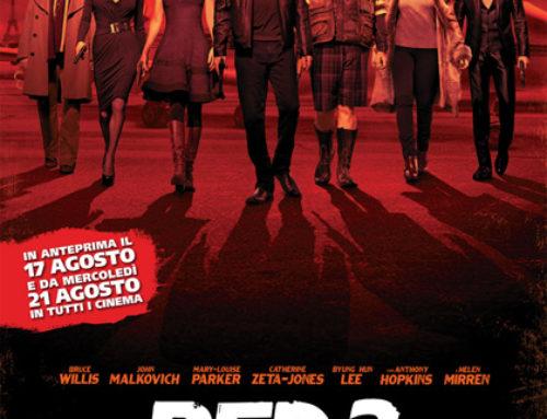 RED 2 – il V anniversario dell'uscita in sala dell'action con Bruce Willis