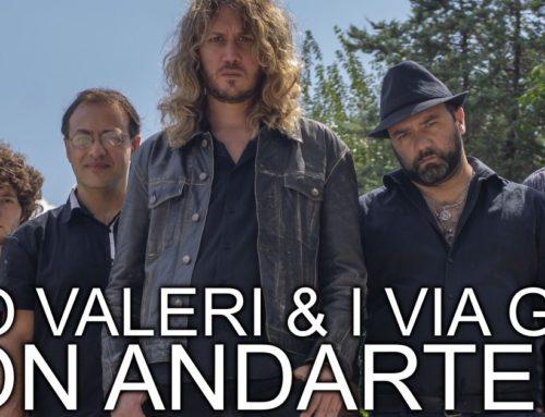 NON ANDARTENE – nuovo singolo per i romani Mirko Valeri & I Via Greve