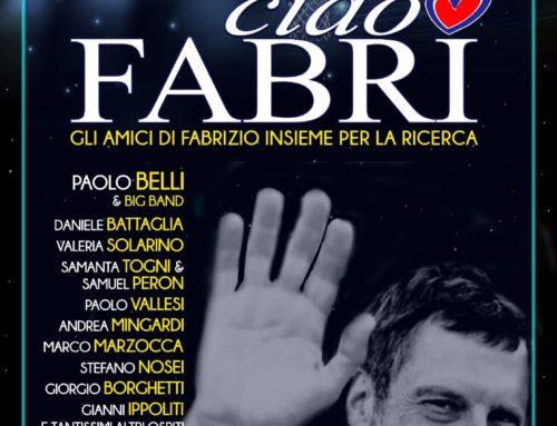 CIAO FABRI – la serata evento dedicata a Fabrizio Frizzi