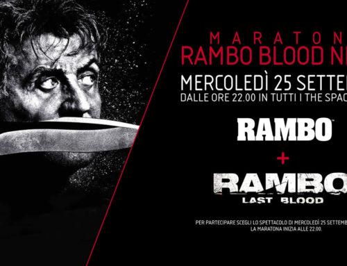 RAMBO BLOOD NIGHT – stasera la maratona esclusiva del circuito The Space Cinema