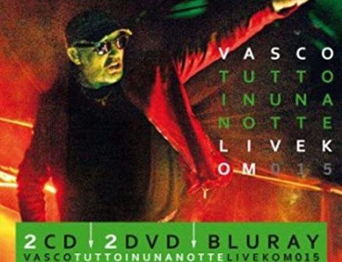 TUTTO IN UNA NOTTE-LIVE KOM 015 – il nono album dal vivo di Vasco Rossi